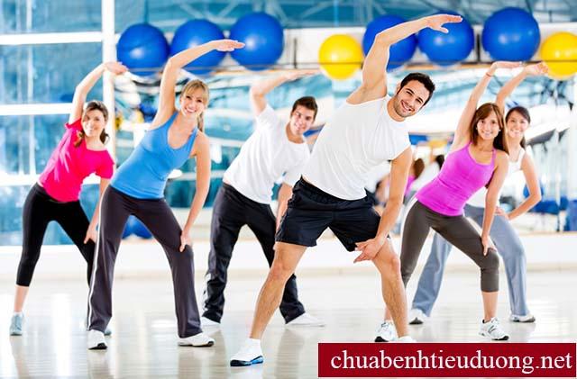 Tập thể dục kiểm soát tiểu đường tuýp 3