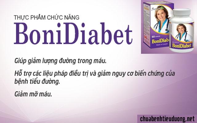 Bonidiabet tốt cho người tiểu đường