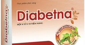 Diabetna trị tiểu đường có hiệu quả không