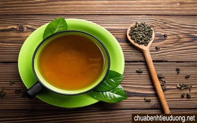 trà xanh tốt cho người tiểu đường