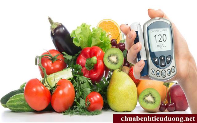 Chế độ ăn uống cho bệnh nhân tiểu đường