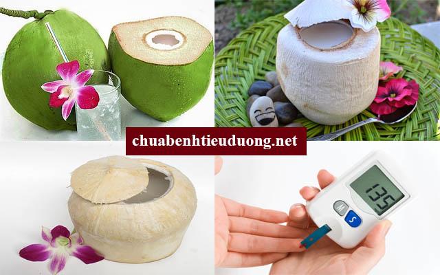 Người bệnh tiểu đường có thể uống nước dừa