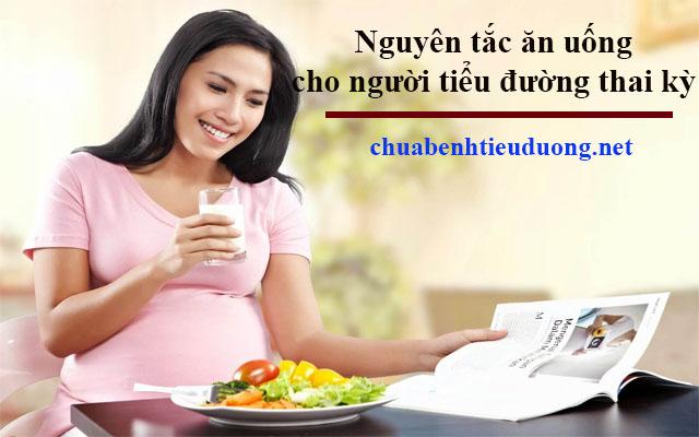 Chế độ ăn uống cho bệnh nhân tiểu đường thai kỳ