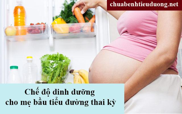 Bị tiểu đường thai kỳ nên ăn gì?