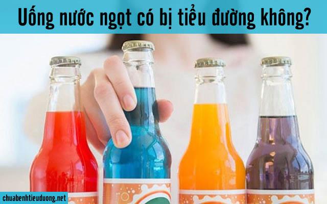 uống nước ngọt có bị bệnh tiểu đường không