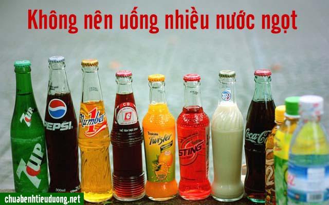 uống nhiều nước ngọt gây tiểu đường