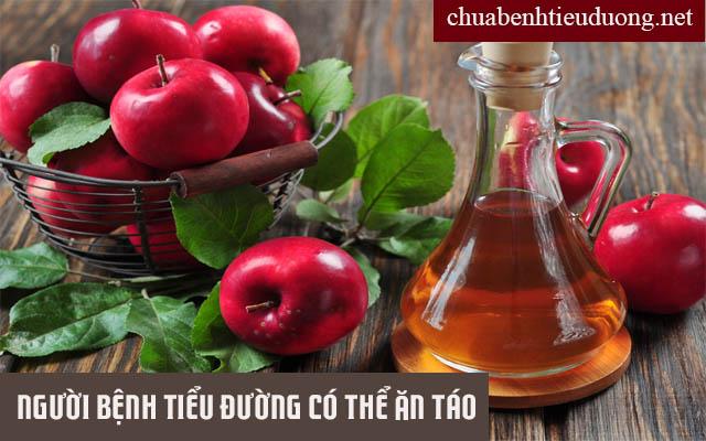 Bệnh nhân tiểu đường có thể bổ sung táo cho cơ thể