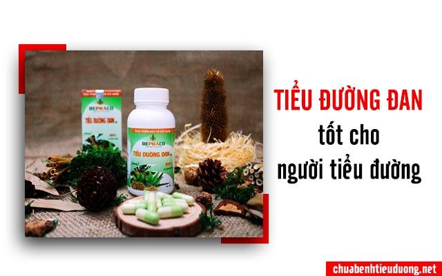Tiểu Đường Đan trị tiểu đường