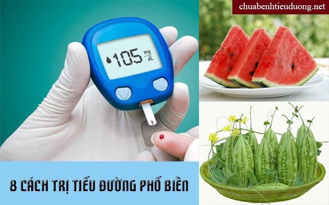 Cách điều trị bệnh tiểu đường bằng dân gian